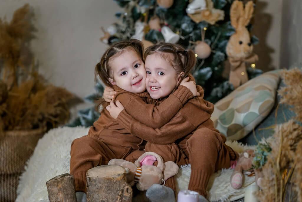 Детская фотосессия близняшек - Ninel.Photo